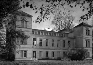 Berlin, Schloss Tegel, Parkseite