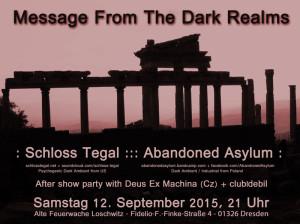 Dark Realms 300x224 - Messages from Dark Realms at Alte Feuerwache Loschwitz Dresden, Germany - September 12th 2015