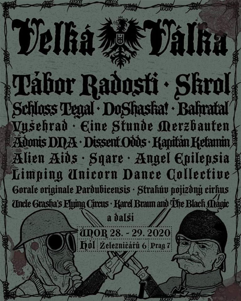 Big War Schloss Tegal - Schloss Tegal at Velka Valka (Big Battle) in Prague February 28, 2020