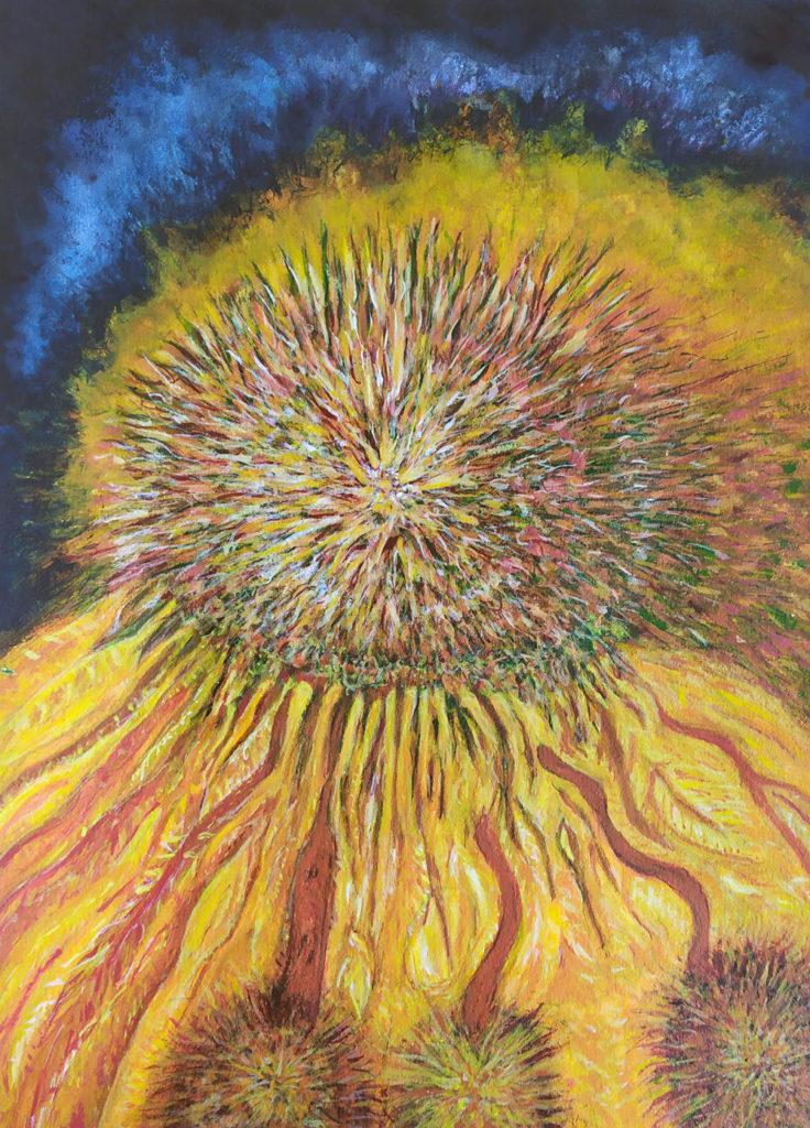 Covid Sunrise Final 736x1024 - Schloss Tegal Art Gallery - Works by RL Schneider