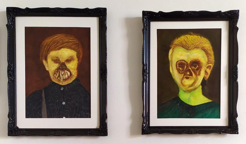 Syphilis Set Final - Schloss Tegal Art Gallery - Works by RL Schneider